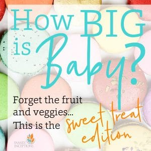 how big is baby growth chart candy